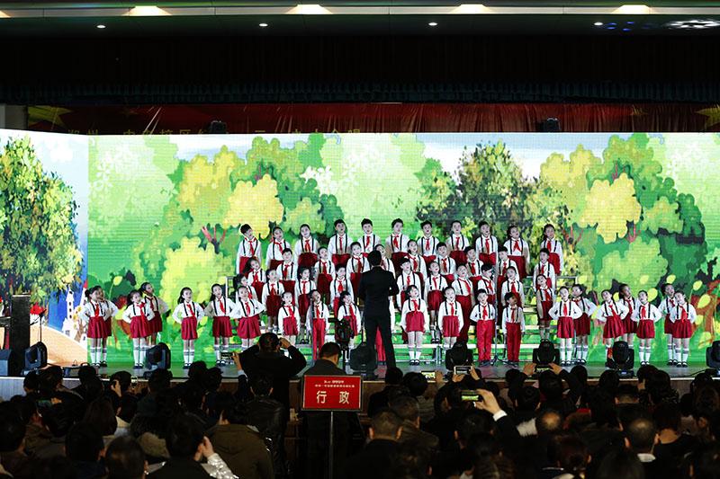 高唱红歌喜迎新春,团结务实再创